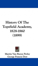 history of the topsfield academy_cover