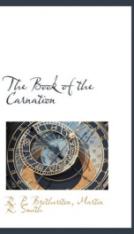 the book of the carnation_cover