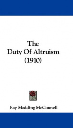 the duty of altruism_cover