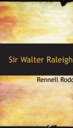 sir walter raleigh_cover