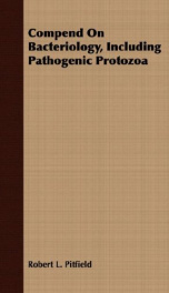 compend on bacteriology including pathogenic protozoa_cover
