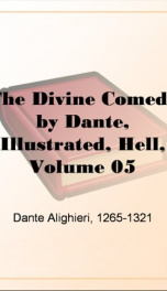 The Divine Comedy by Dante, Illustrated, Hell, Volume 05_cover