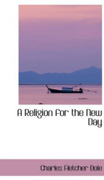a religion for the new day_cover