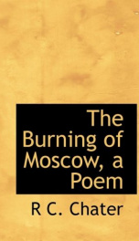 the burning of moscow a poem_cover