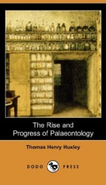 The Rise and Progress of Palaeontology_cover