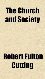 the church and society_cover
