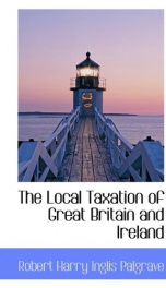 the local taxation of great britain and ireland_cover