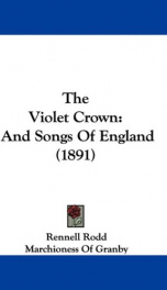 the violet crown and songs of england_cover