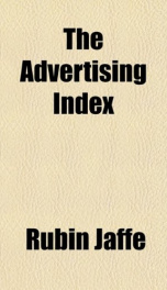the advertising index_cover