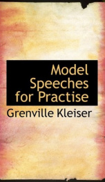 Model Speeches for Practise_cover