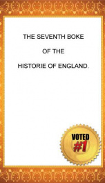 chronicles 1 of 6 the historie of england 7 of 8 raphael holinshed 8 7_cover