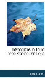 adventures in thule three stories for boys_cover