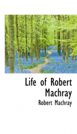 life of robert machray_cover