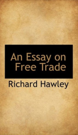an essay on free trade_cover