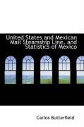 united states and mexican mail steamship line and statistics of mexico_cover