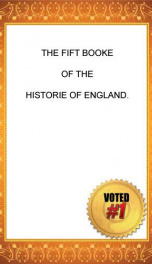 chronicles 1 of 6 the historie of england 5 of 8 raphael holinshed 8 5_cover