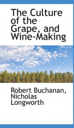 the culture of the grape and wine making_cover