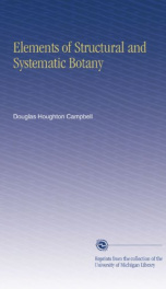 Elements of Structural and Systematic Botany_cover