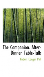 the companion after dinner table talk_cover