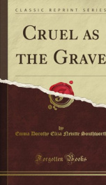 Cruel As The Grave_cover