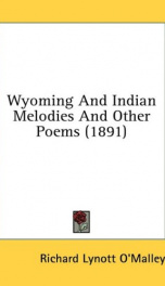 wyoming and indian melodies and other poems_cover