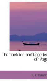 The Doctrine and Practice of Yoga_cover