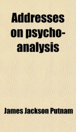 addresses on psycho analysis_cover