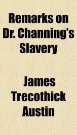 remarks on dr channings slavery_cover