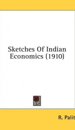 sketches of indian economics_cover