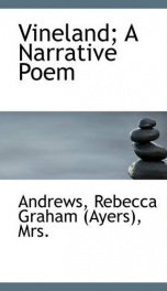 vineland a narrative poem_cover