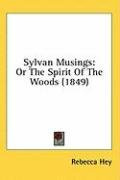 sylvan musings or the spirit of the woods_cover