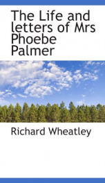 the life and letters of mrs phoebe palmer_cover
