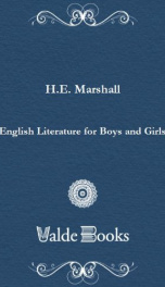 english literature for boys and girls_cover