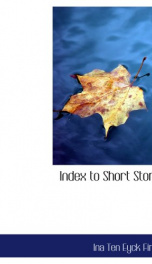 index to short stories_cover