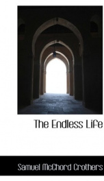 the endless life_cover