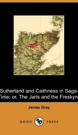 Sutherland and Caithness in Saga-Time_cover
