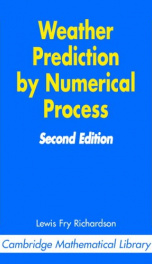 weather prediction by numerical process_cover
