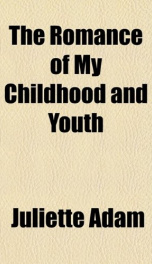 the romance of my childhood and youth_cover