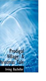 prodigal village a christmas tale_cover