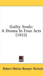 guilty souls a drama in four acts_cover