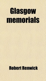 glasgow memorials_cover