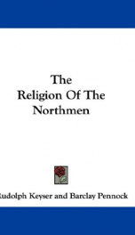 the religion of the northmen_cover