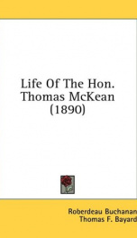 life of the hon thomas mckean_cover