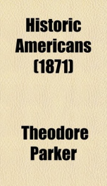 historic americans_cover