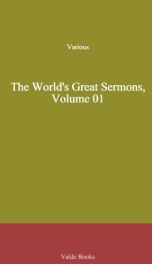 The World's Great Sermons, Volume 01_cover