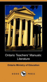 Ontario Teachers' Manuals: Literature_cover