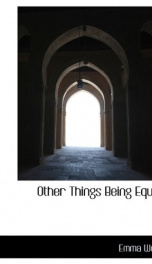 Other Things Being Equal_cover