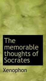 The Memorable Thoughts of Socrates_cover