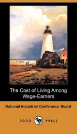 The Cost of Living Among Wage-Earners_cover