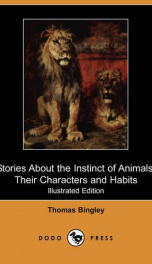 Stories about the Instinct of Animals, Their Characters, and Habits_cover